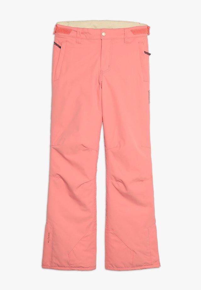 SUNLEAF GIRLS SNOWPANTS - Talvihousut - desert pink
