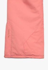 Brunotti - SUNLEAF GIRLS SNOWPANTS - Zimní kalhoty - desert pink - 3