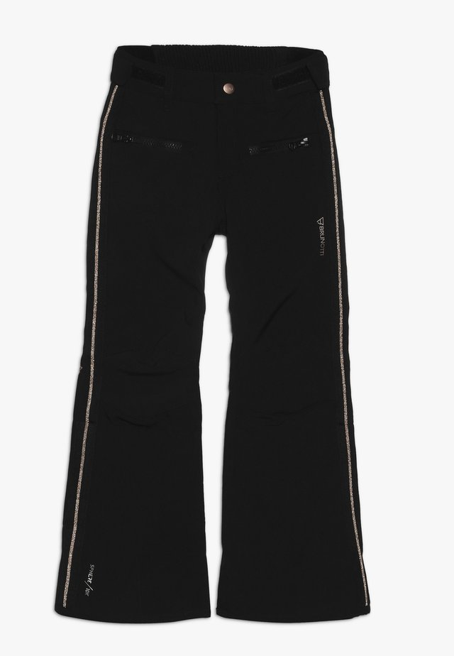 SILVEREYE GIRLS PANT - Talvihousut - black
