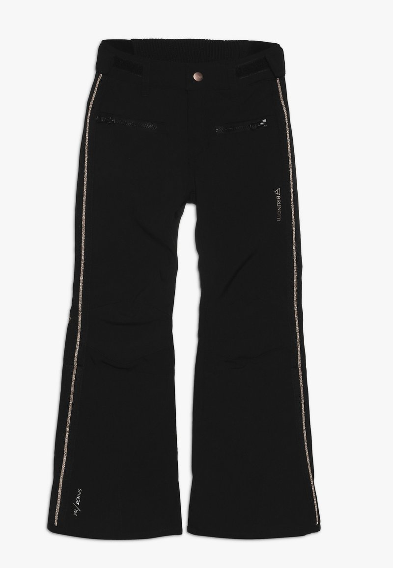 Brunotti - SILVEREYE GIRLS PANT - Täckbyxor - black