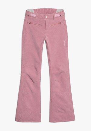 GIRLS PANT - Snow pants - old rose