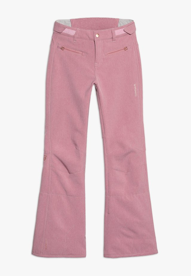 GIRLS PANT - Pantalon de ski - old rose