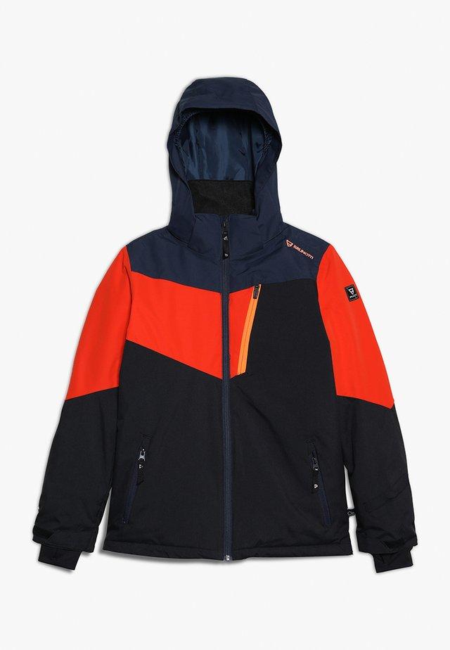DAKOTO BOYS SNOWJACKET - Snowboard jacket - titanium