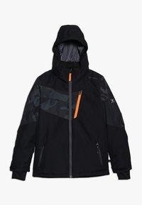 Brunotti - DAKOTO BOYS SNOWJACKET - Snowboardjakke - black - 0