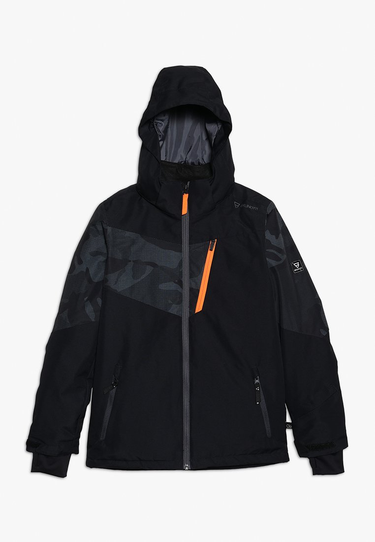 Brunotti - DAKOTO BOYS SNOWJACKET - Snowboardjacka - black