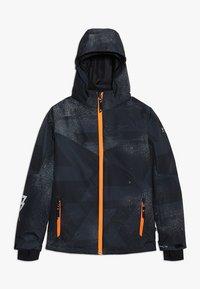 Brunotti - PANDER BOYS SNOWJACKET - Snowboardová bunda - black - 0