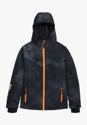 PANDER BOYS SNOWJACKET - Laskettelutakki - black