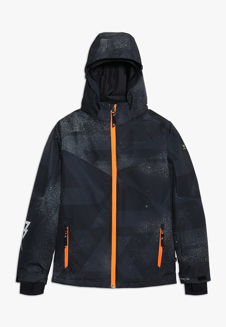 Brunotti - PANDER BOYS SNOWJACKET - Snowboardová bunda - black