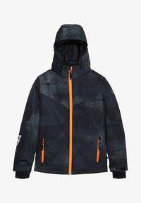 Brunotti - PANDER BOYS SNOWJACKET - Snowboardová bunda - black - 5