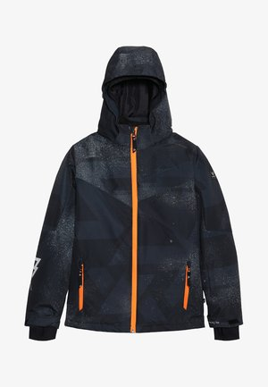 PANDER BOYS SNOWJACKET - Snowboardová bunda - black