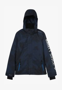 Brunotti - GULLIES BOYS SNOW JACKET - Snowboardjas - space blue - 3