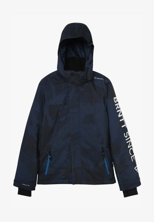 GULLIES BOYS SNOW JACKET - Veste de snowboard - space blue