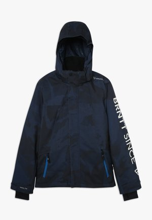 GULLIES BOYS SNOW JACKET - Chaqueta de snowboard - space blue