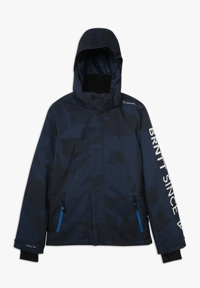 Brunotti - GULLIES BOYS SNOW JACKET - Snowboard jacket - space blue