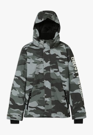 GULLIES BOYS SNOW JACKET - Snowboardjacka - beetle green