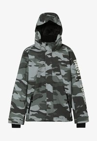 Brunotti - GULLIES BOYS SNOW JACKET - Laskettelutakki - beetle green