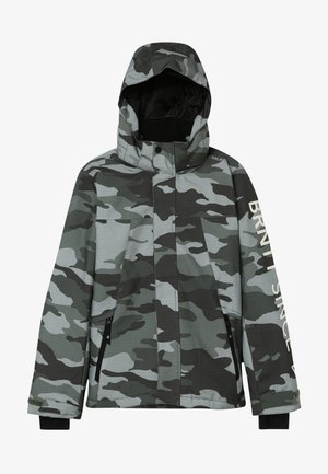 GULLIES BOYS SNOW JACKET - Snowboardová bunda - beetle green