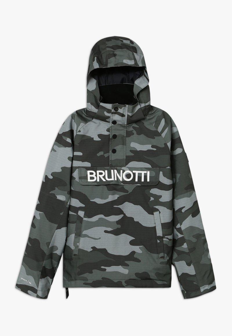 Brunotti - KINGERS BOYSSNOWJACKET - Snowboardjacke - titanium