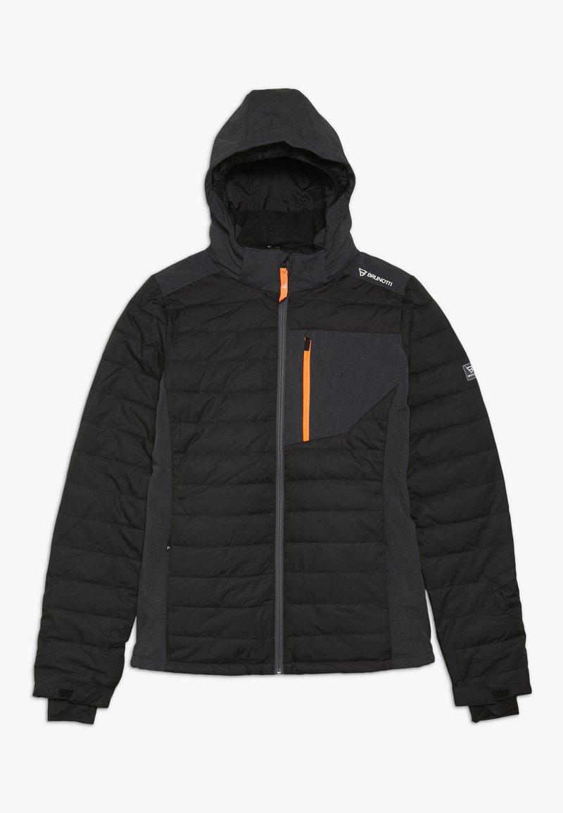 Brunotti - TRYSAIL BOYSSNOW JACKET - Snowboardjacke - black