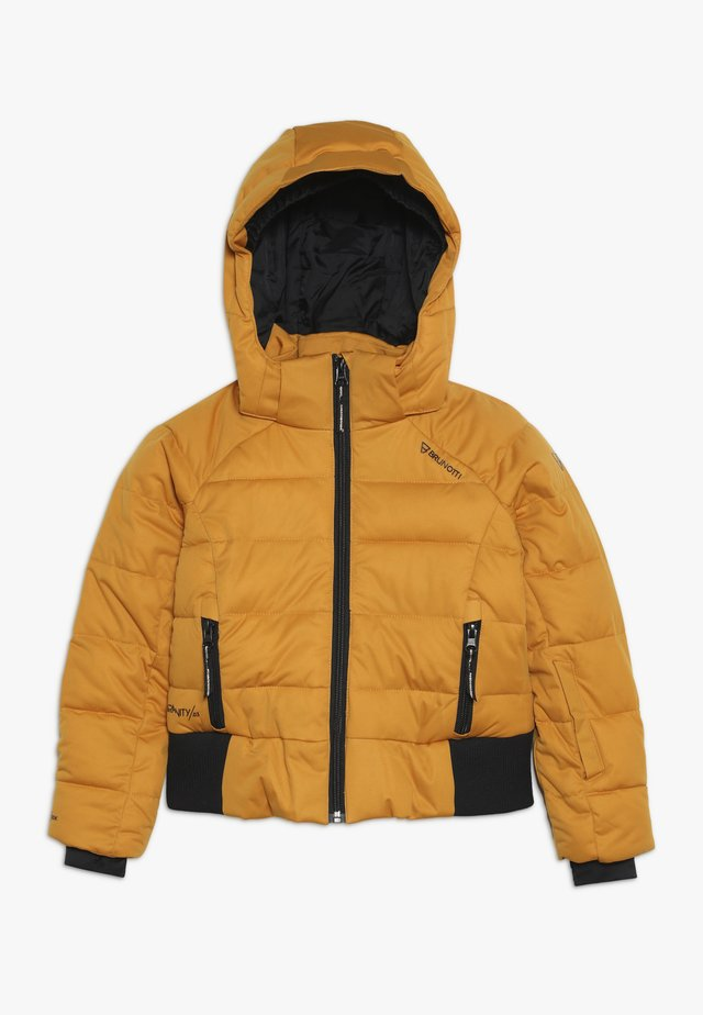 FIRECROWN GIRLS SNOWJACKET - Snowboardová bunda - autumn yellow