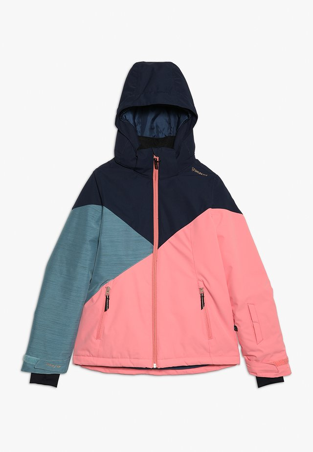SHEERWATER GIRLS SNOWJACKET - Snowboardová bunda - desert pink