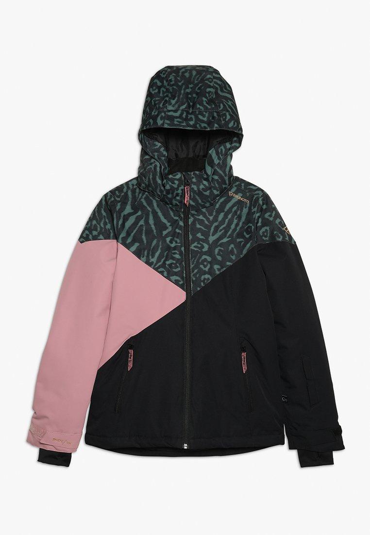 Brunotti - SHEERWATER GIRLS SNOWJACKET - Snowboard jacket - black
