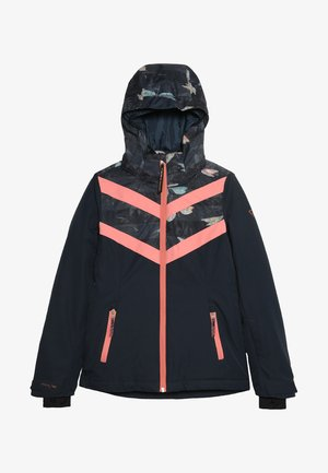 PELIKAN GIRLS SNOWJACKET - Chaqueta de snowboard - space blue
