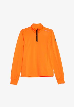 TERNI  - Fleece trui - fluo orange