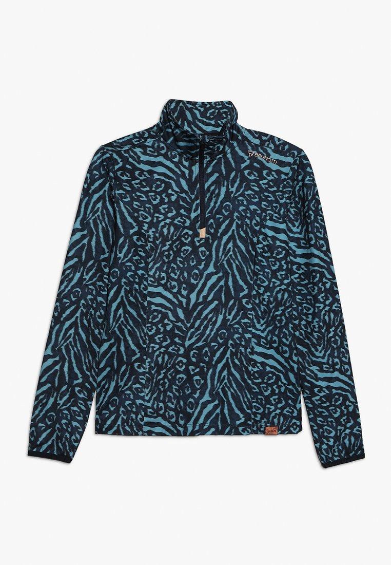 Brunotti - RODIA GIRLS  - Fleece jumper - space blue