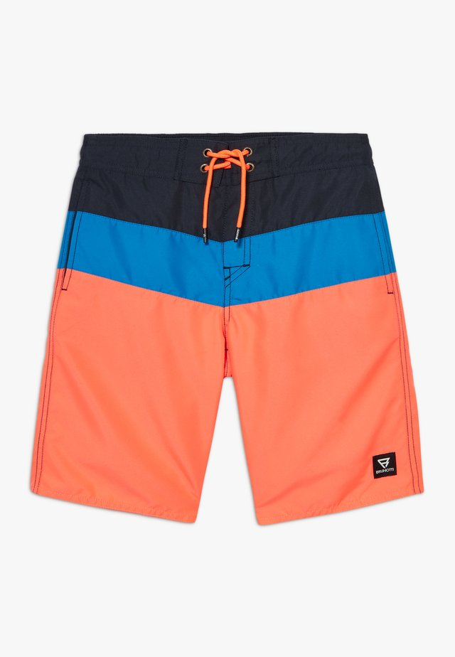 CATAMARAN JR BOYS - Uimashortsit - coral/blue