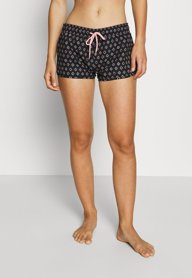 GLENNIS WOMEN - Bikini bottoms - black