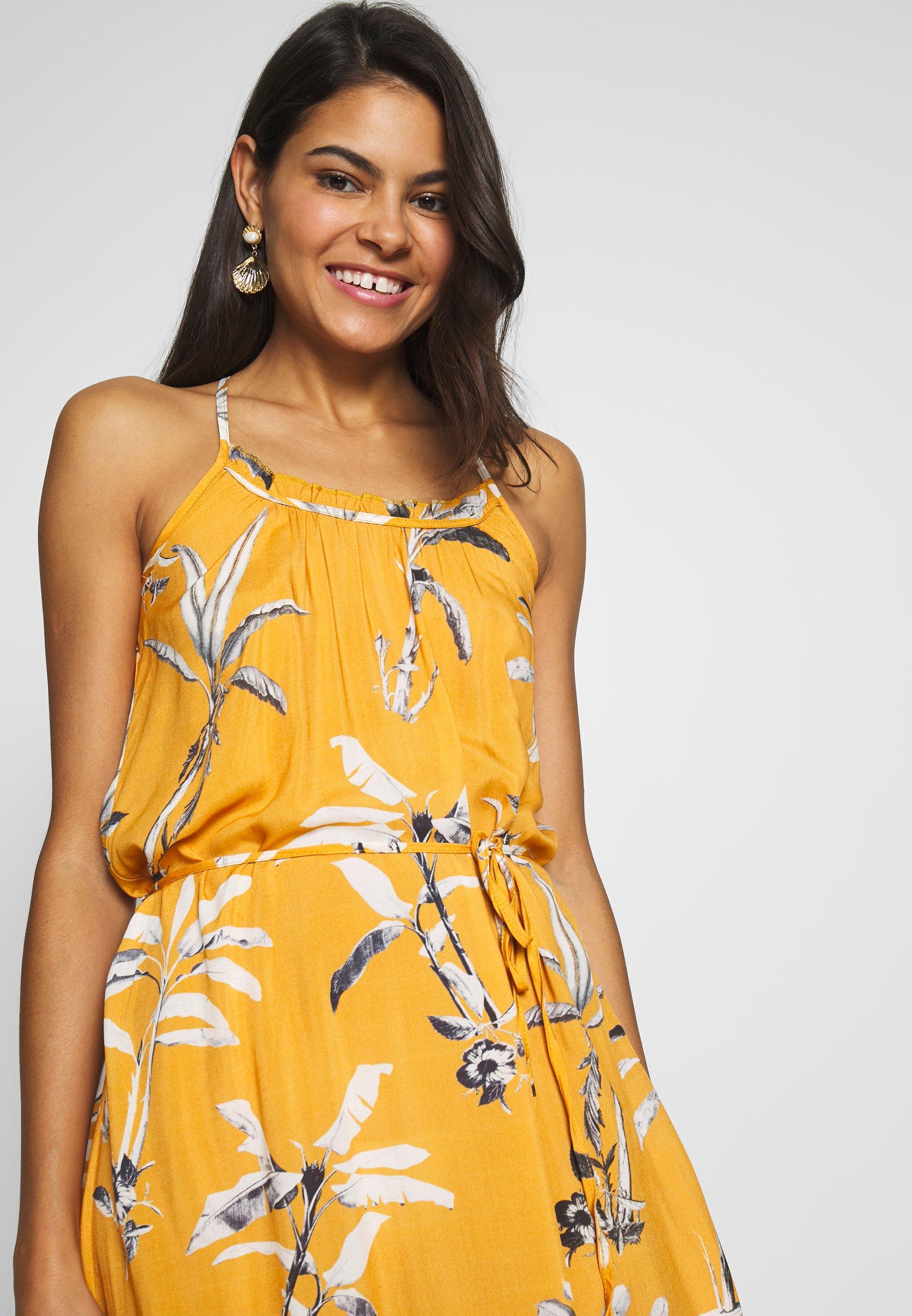 Brunotti Cia Women Dress - Strandaccessoar Autumn Yellow