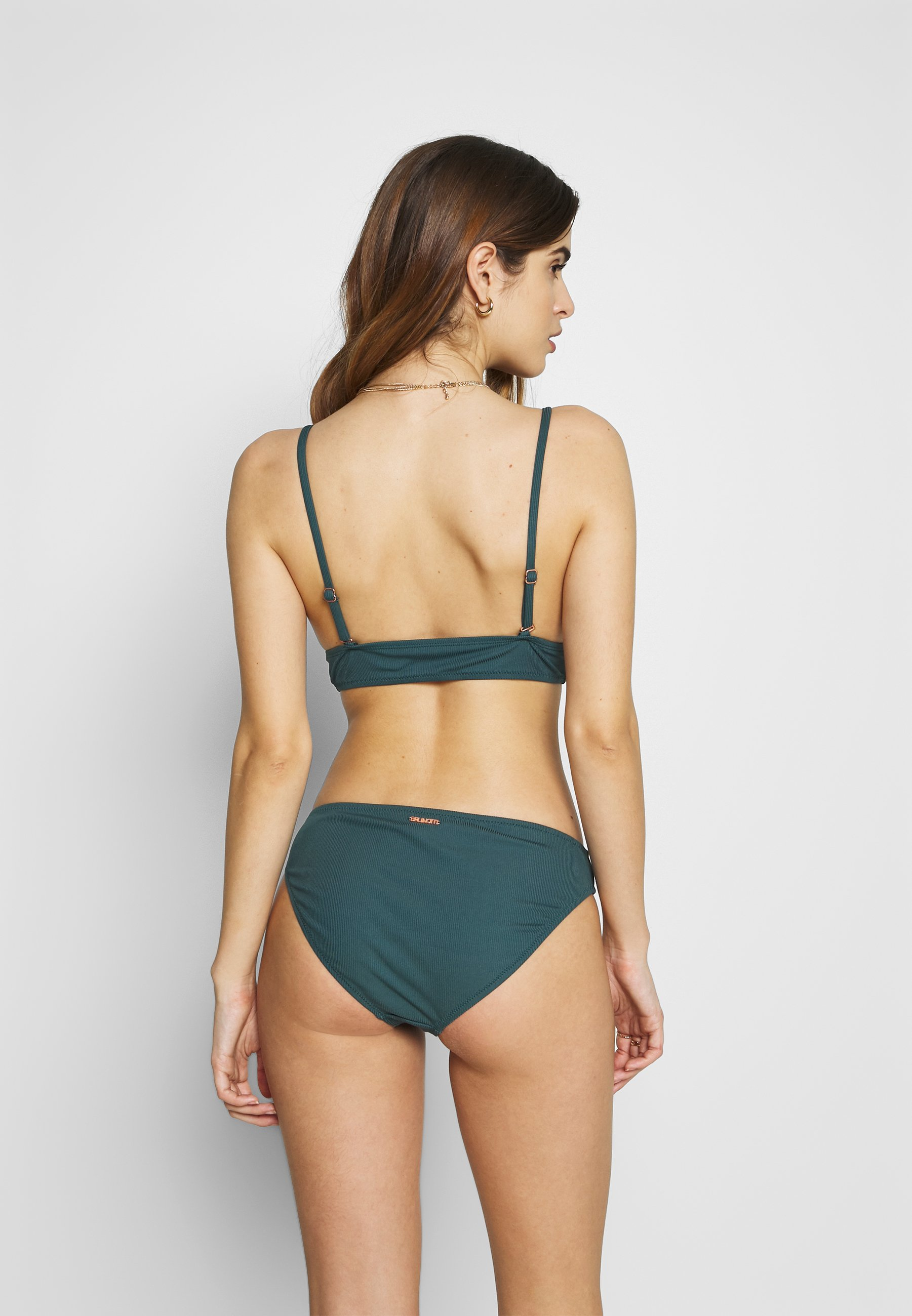 Brunotti Adeline Women Basic Bottom Set - Bikini Fuel Green