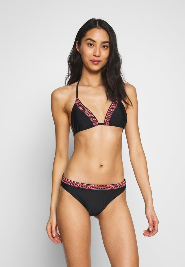 TRINITY WOMEN BASIC BOTTOM SET - Bikini - black