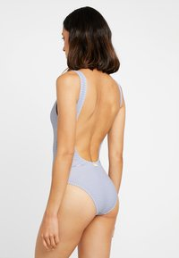 Banana Moon - BELAIR SUNSTRIPE PIECE NAGEUR - Swimsuit - blue/white - 2