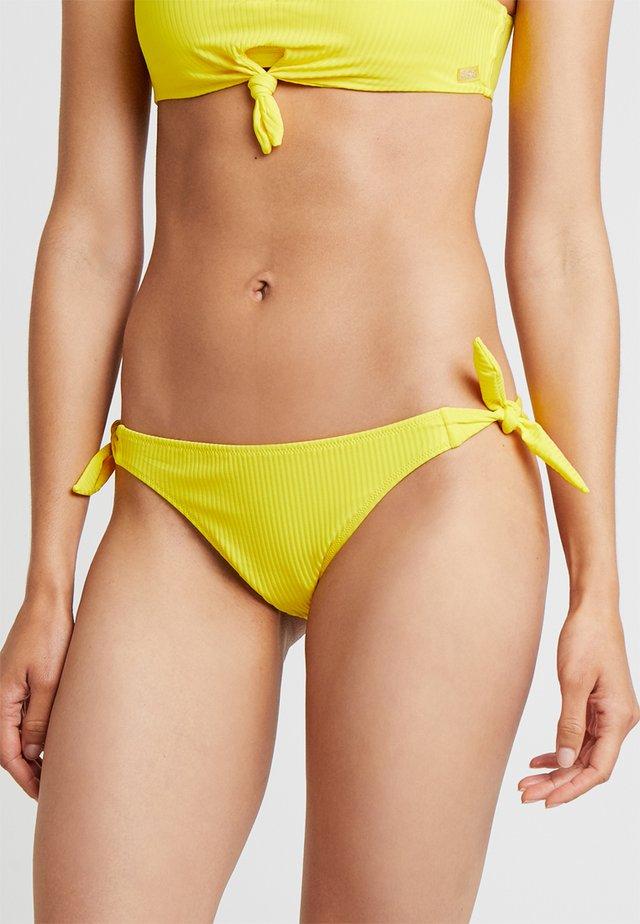 BENTA SUNRIB CULOTTE NOUEE - Bas de bikini - jaune