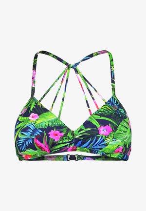 MAOLI SGORGE TRIANGLE EMBOITANT - Bikini top - multi