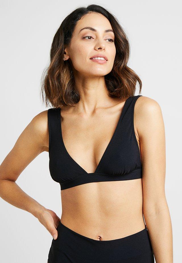 FINZO SGORGE TRIANGLE - Bikini top - noir