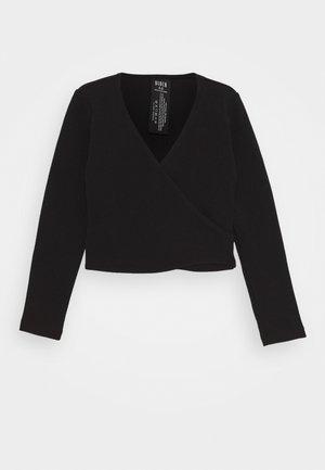 BALLET WRAP CAMBRE - T-shirt à manches longues - black