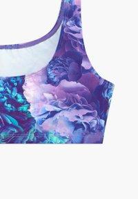Bloch - GIRLS DYMANI GYMNASTICS PRINTED TOP - Sports bra - purple - 3