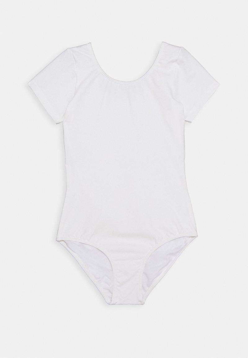 Bloch - SHORT SLEEVE LEOTARD BALLET - gymnastikdräkt - white