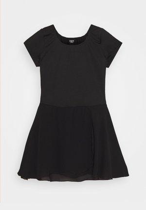 BALLET SHORT SLEEVE DRESS PRISHA - Jerseyklänning - black