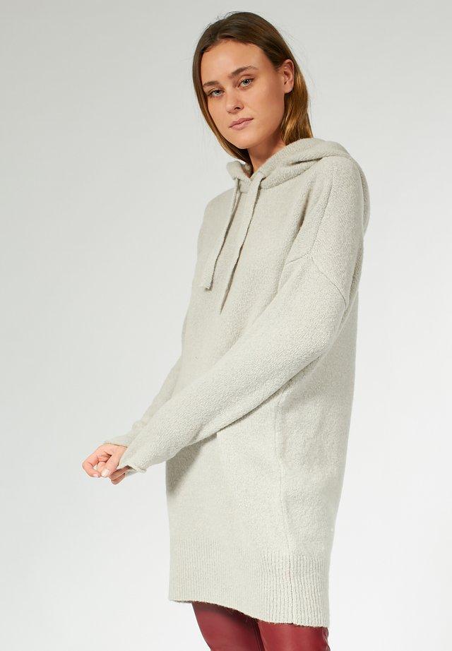 Gebreide jurk - light grey