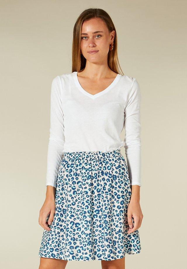 SHIRT - T-shirt à manches longues - white