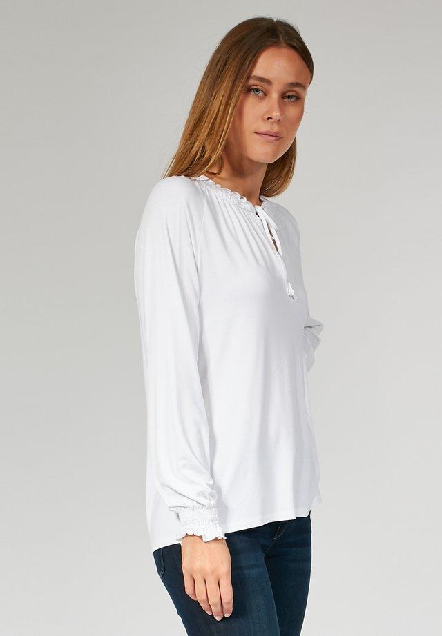 LONGSLEEVE - T-shirt à manches longues - white