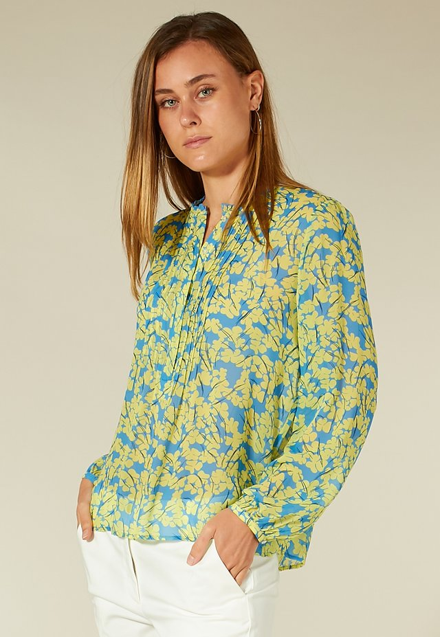 MIT FLORALEM MUSTER - Blouse - yellow blossom print