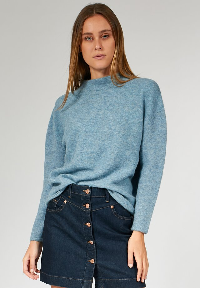 BOXY - Pullover - light blue