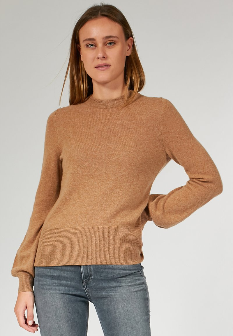 Bloom - FITTED BALLOON SLEEVE - Maglione - brown