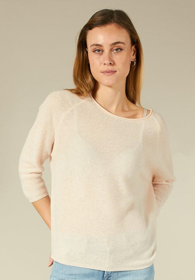 Pullover - blush