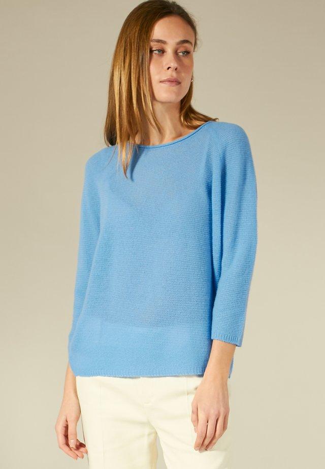 Pullover - cornflower blue